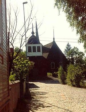 Kristinestad - Ulrica Eleonora church in central Kristinestad.
