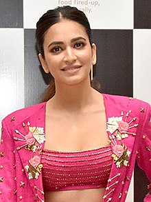 Kriti Kharbanda graces the launch of Arth restaurant (16) (cropped).jpg