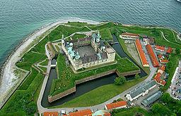 Slottet Kronborg er en af Helsingørs mest besøgte seværdigheder.
