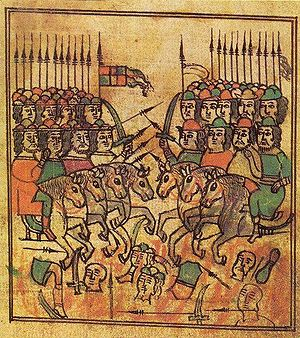 Battle of Kulikovo - 17th century illustration