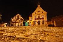 Kurtzenhouse - le centre, la nuit.jpg