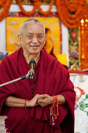 Thubten Zopa Rinpoche - Image: Kyabje Lama Thubten Zopa Rinpoche December 2008 Kopan monastery Nepal