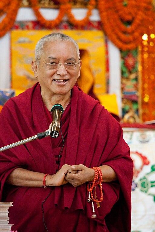 Lama Zopa in 2008 in Nepal