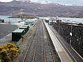 Kyle of Lochalsh station Platform 2 approach, Ross and Cromarty - view south-east.jpg