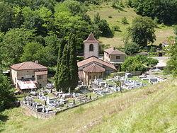 L'église Saint-Martin et son cimetière.JPG