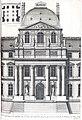 L'Architecture française (Marot) BnF RES-V-371 170r-f367 Louvre, Porte de l'entrée du côté de la Rivière fait par Le Vau (adjusted).jpg