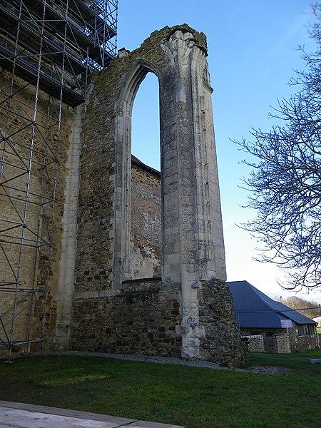 L'abbaye de La Roe en restauration