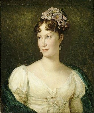 Marie Louise, Duchess of Parma - Portrait by François Gérard