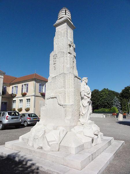 Lérouville (Meuse) monument aux morts