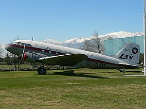 LATAM Chile - LAN-Chile Douglas DC-3 added to the fleet in 1945