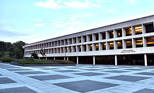 Lyndon B. Johnson School of Public Affairs - LBJ School exterior shot