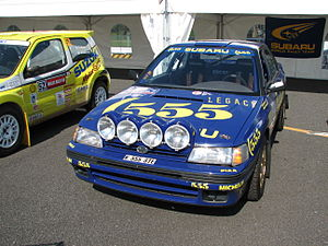 Subaru World Rally Team - 1993 Legacy RS in 555 livery