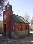 This red brick chapel was erected in 1925 by Joseph Maynard Mathew, at the time landdrost in Natal, to house a memorial plaque in memory of his son Llandaff, who died during the Burnside colliery disaster. Current use: church and memorial. on the N3 heading towards the OFS, a few metres from the provincial boundary turn left after the gar. This red brick chapel was erected in 1925 by Joseph Maynard Mathew, at the time landrost in Natal, t