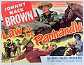 LLaw of the Panhandle 1950 poster.jpg