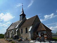 La Cambe (Thibouville, Eure, Fr) église Saint-Julien (01).JPG