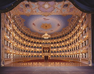 La Fenice operahouse in the city. La Fenice Opera House from the stage.jpg