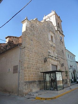 La Granja de la Costera - Image: La Granja de la Costera. Església