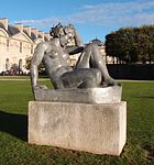 La Montagne by Aristide Maillol, Paris 3 November 2012.jpg