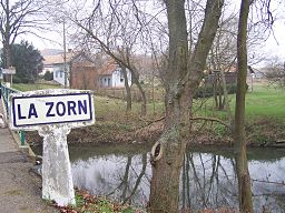 The Zorn near Waltenheim-sur-Zorn