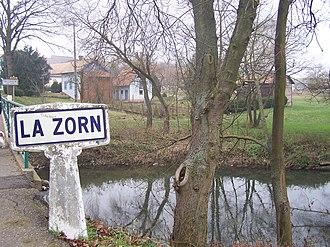 Zorn (river) - The Zorn near Waltenheim-sur-Zorn