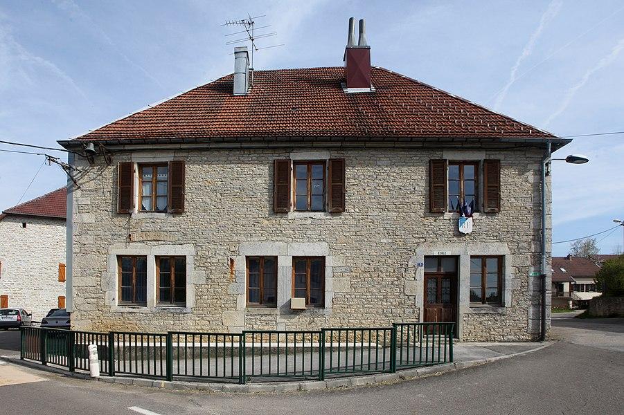 Mairie de Labergement-du-Navois (Doubs).