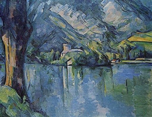 Lac d'Annecy, par Paul Cézanne