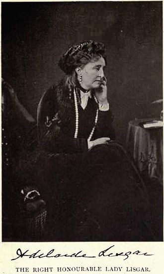 John Young, 1st Baron Lisgar - Lady Lisgar by William James Topley
