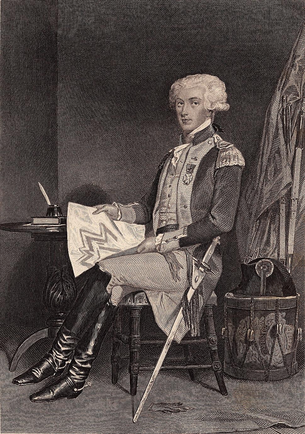 Lafayette, Marie Joseph Paul Yves Roch Gilbert Du Motier, marquis de