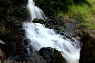 Lamb Range - Waterfall near Copperload Falls Dam, 2008