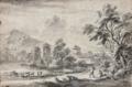 Lallemand Vachers et leur troupeau dans un paysage classique.png