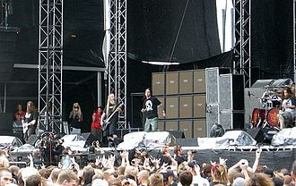 Lamb of God (band) - Lamb of God at Sonisphere Sweden 2009.