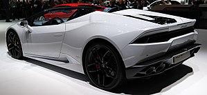 Lamborghini Huracán - Huracán LP610-4 Spyder