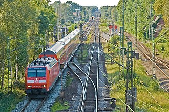 Wunstorf–Bremen railway - Regional-Express (RE) Norddeich Mole–Hanover