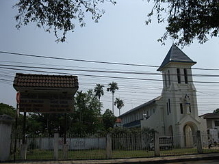 Sacred Heart Cathedral, Vientiane Church in Vientiane, Laos