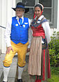 Lars Jacob & Oksana Maria Lorczak; Swedish costumes 2011.jpg