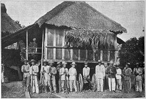 Baler, Aurora - Filipino troops of Colonel Tecson in Baler (May 1899)