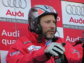 Lasse Kjus retired Norwegian alpine ski racer