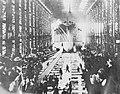 Launching of USS Oklahoma (BB-37) at New York Shipbuilding Company, Camden, New Jersey, 1914 (21327620685).jpg
