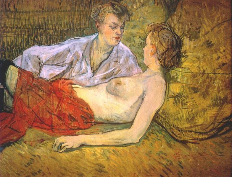 파일:Lautrec the two girlfriends c1894-5.jpg