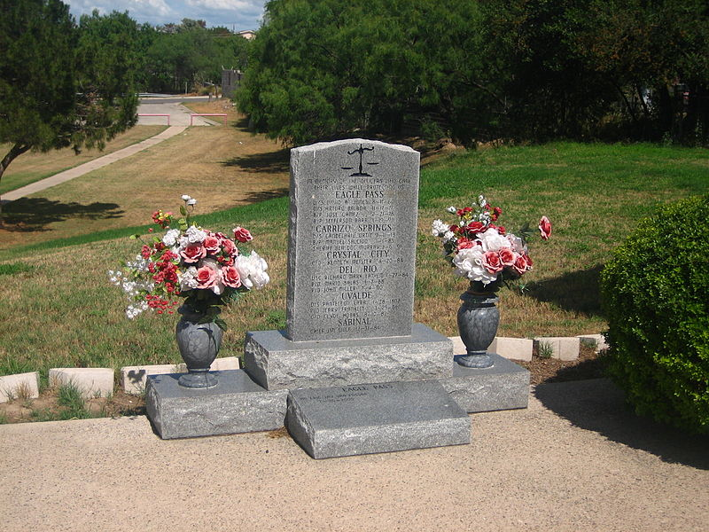 File:Law enforcement officers marker in Eagle Pass IMG 0264.JPG