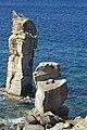 Le Colonne, Spiaggia La Bobba, Isola di San Pietro, Carbonia-Iglesias, Sardinia, Italy - panoramio (1).jpg