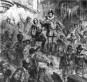 Le duc de Guise lors de la journee des barricades by Paul Lehugeur 19th century