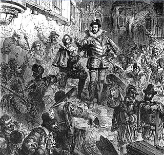 Day of the Barricades public uprising in the French Wars of Religion