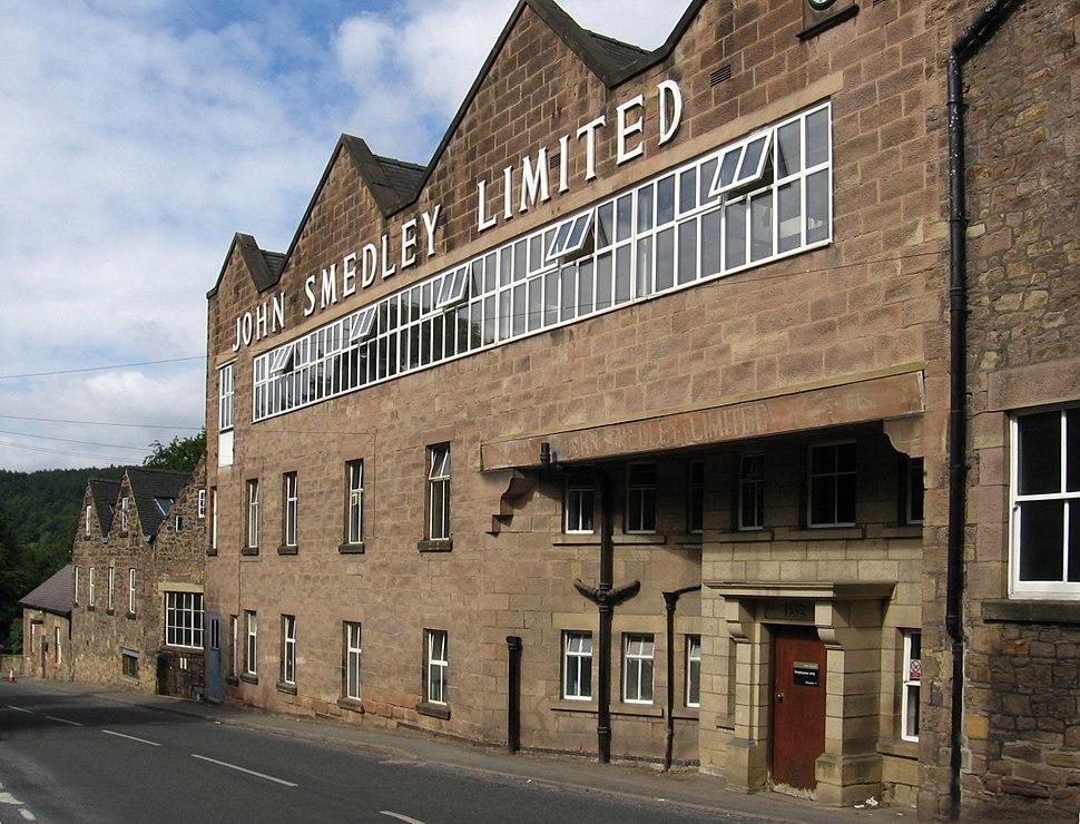 Lea Bridge - John Smedley Mill - Factory Shop