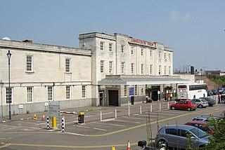 Leamington Spa railway station Railway station in Warwickshire, England