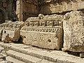 Lebanon, Baalbek, Massive granite blocks of Baalbek temple.jpg
