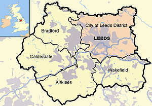 Leeds in West Yorkshire