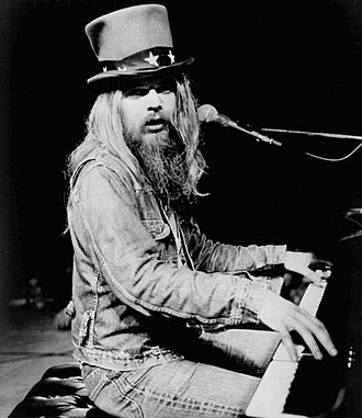 Stop All That Jazz - Leon Russell in 1973, Shelter Records file photo