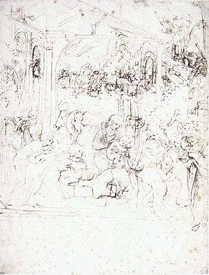 Adoration of the Magi (Leonardo)