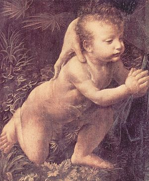 The Holy Infants Embracing - Image: Leonardo da Vinci 031